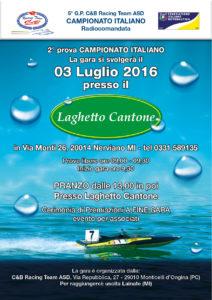 Locandina Campionato Italiano Durata