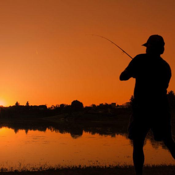 Pesca sportiva al Laghetto Cantone
