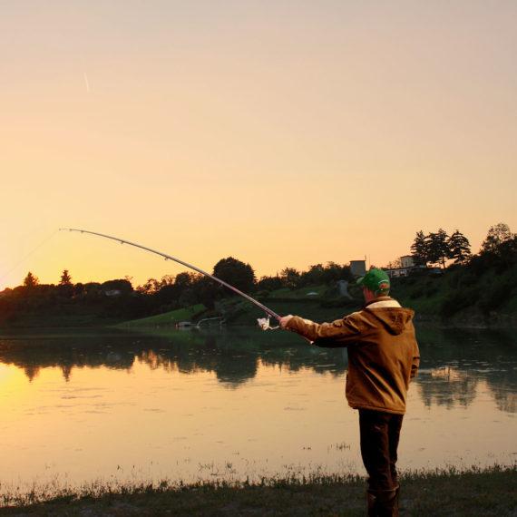 Pescatore ed eventi al Laghetto Cantone