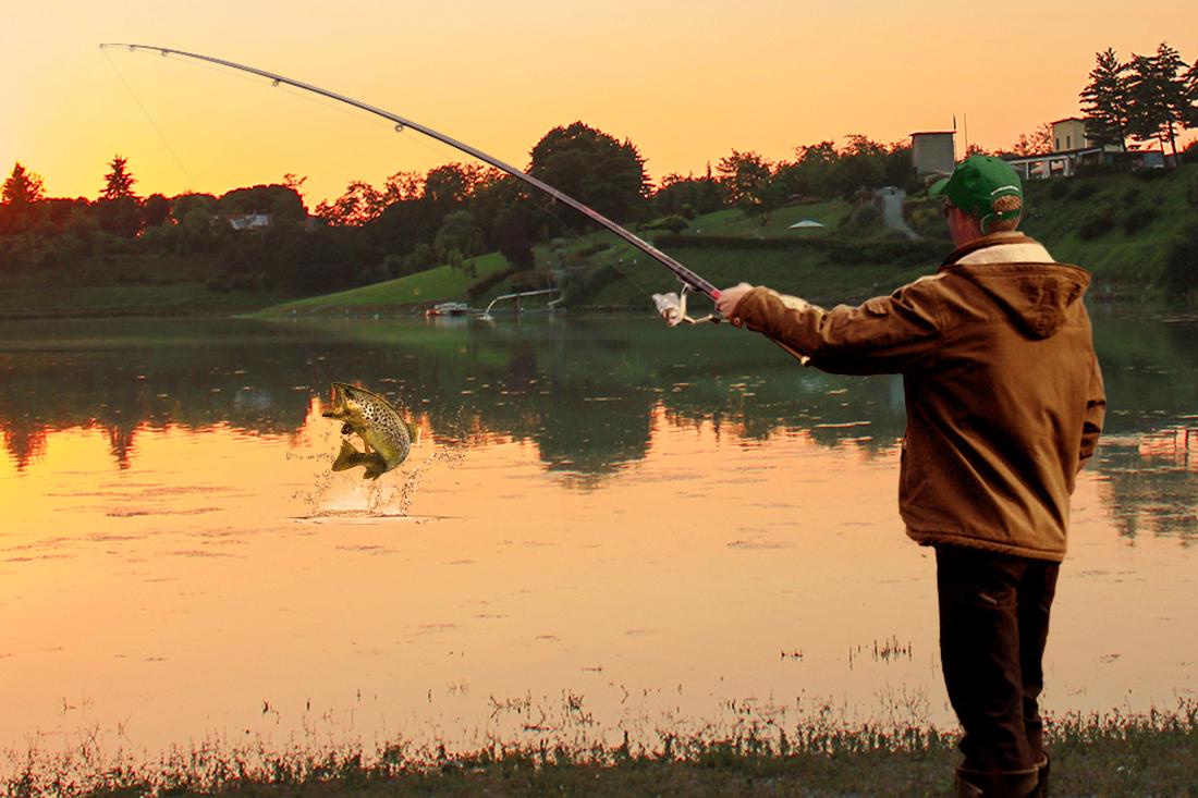 Gara di pesca alla trota