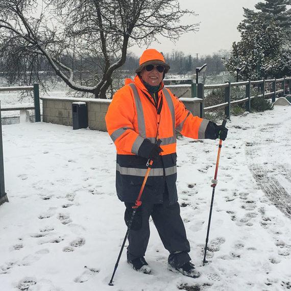 Nordic Walking con la neve
