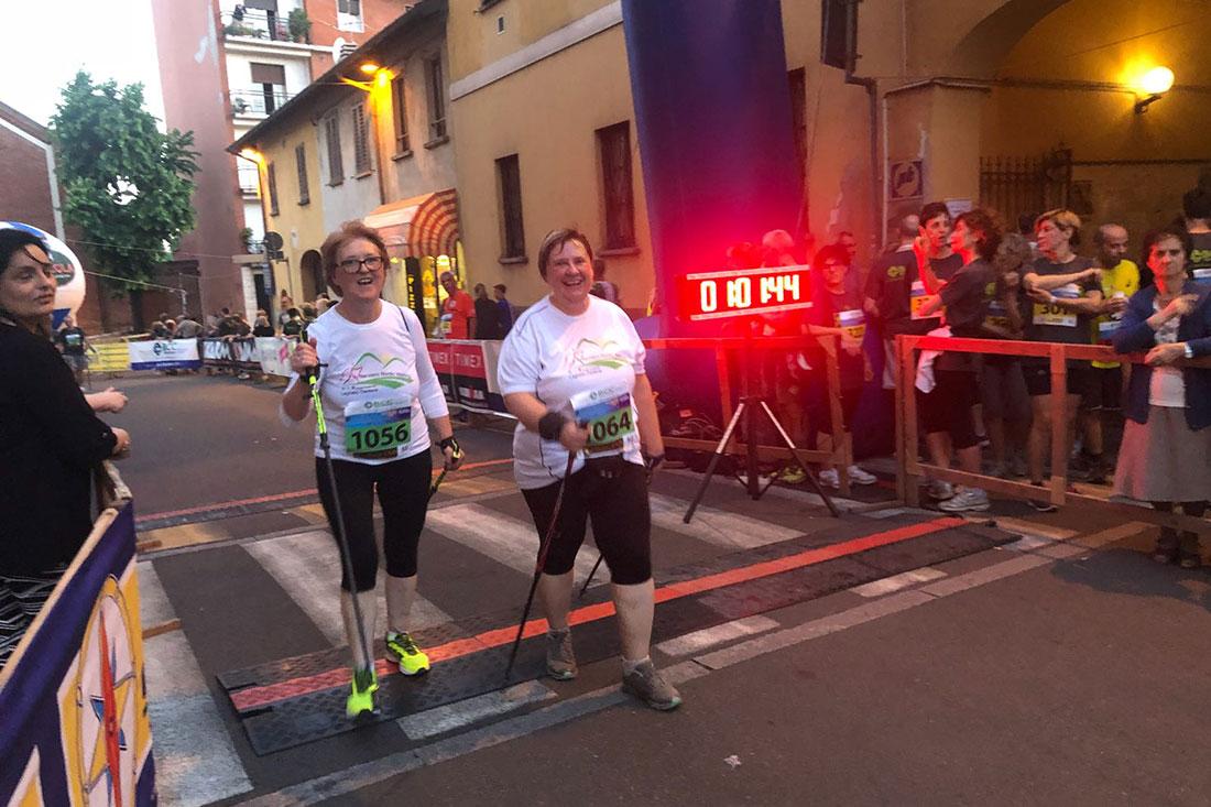 Nordic Walking Nerviano gara 5 mulini