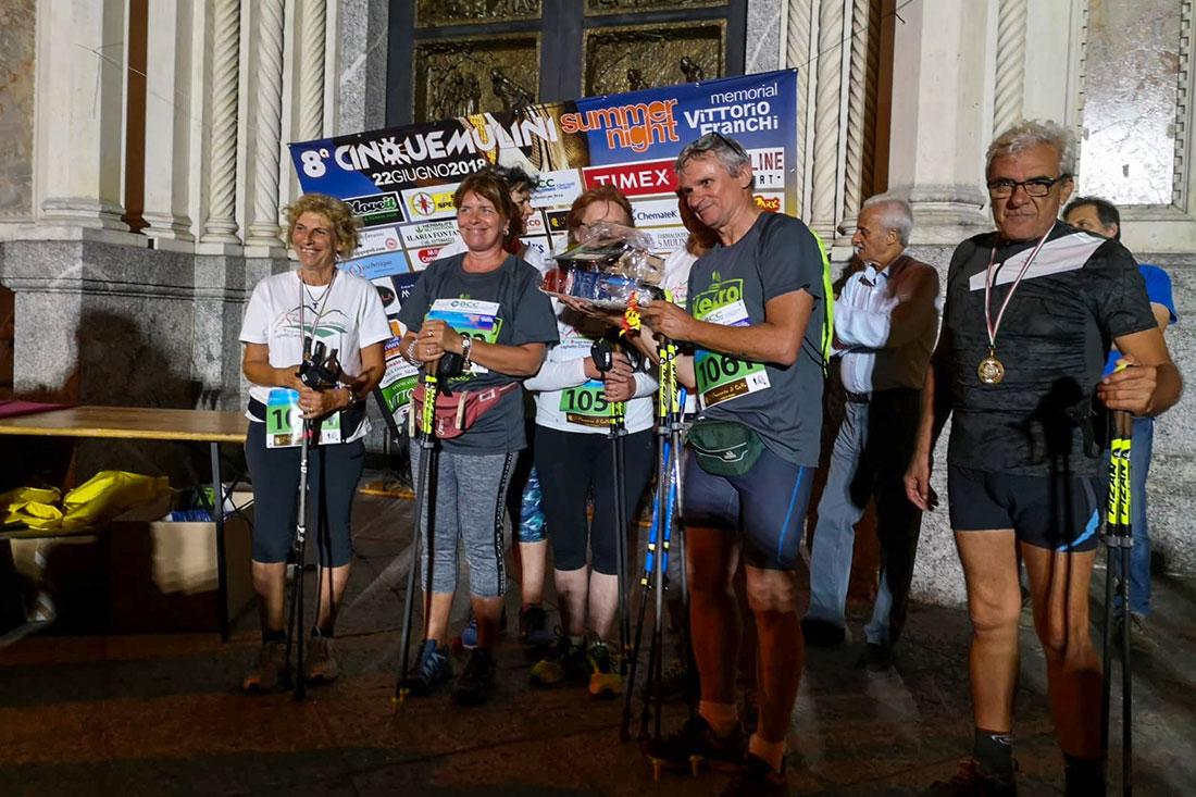 Nordic Walking Nerviano premiazione