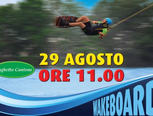 Wakeboard al Laghetto Cantone