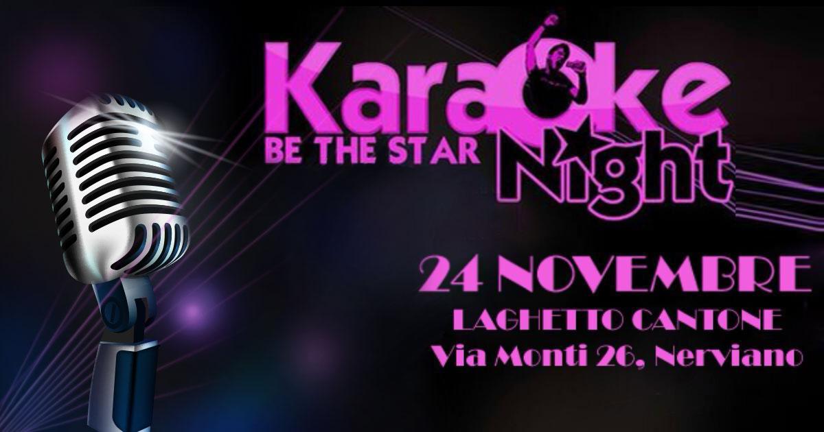 Karaoke al Laghetto Cantone