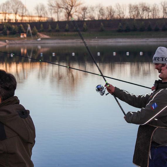 Pesca alla trota di Lago